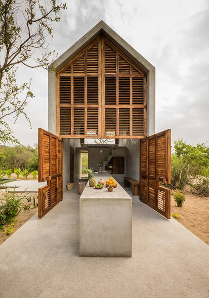 CASA TINY: A fab minimalist Airbnb on the Mexican coast