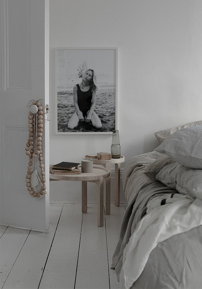 Our effortlessly chic & natural style bedroom