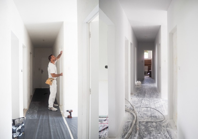 RENOVATIONS: Our minimalist, beachy hallway makeover