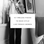 10 timeless pieces to rock style like French women (from the Arket sale)