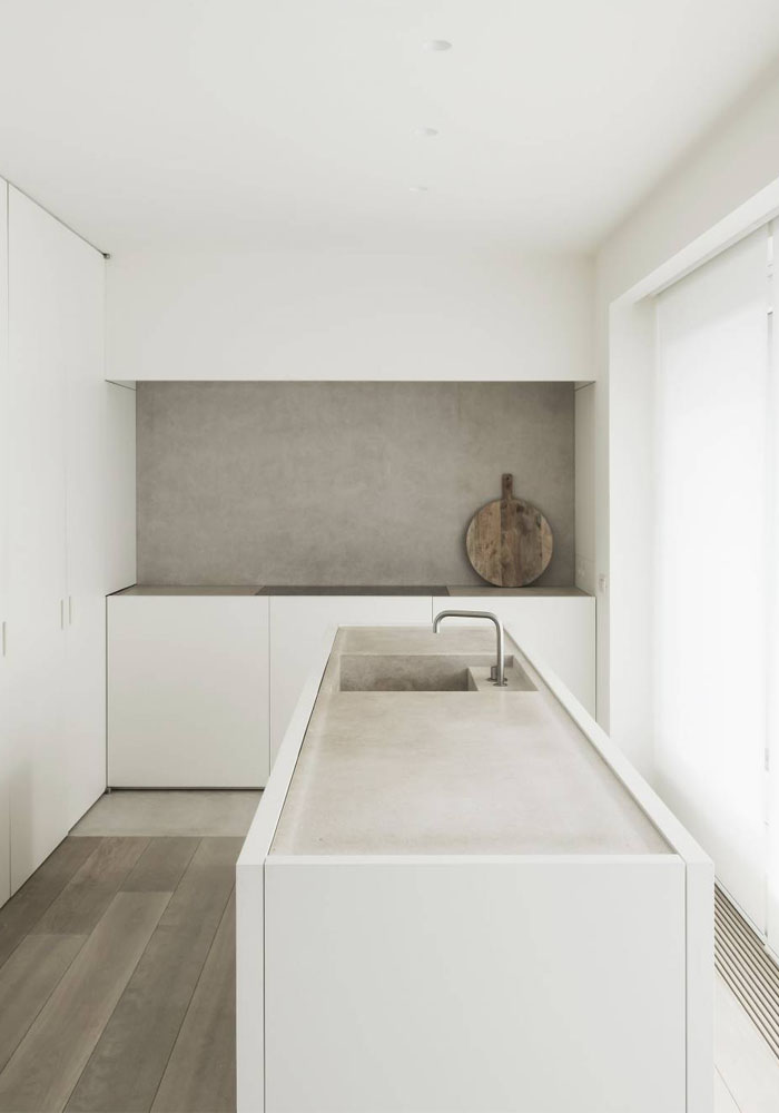 A Belgian flat in muted tones