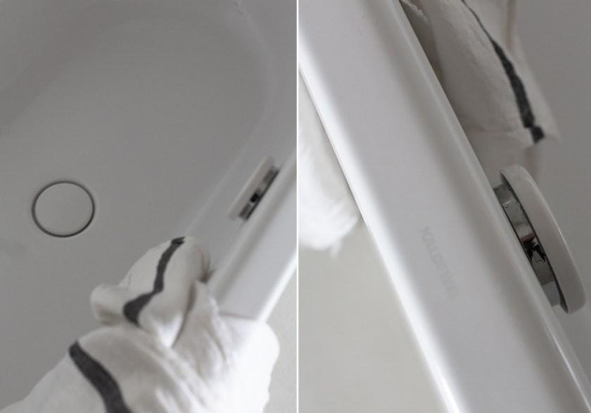 Kaldewei bathtub close-up in CASA PYLA