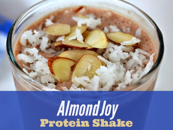 easy protein shakes - Almond Joy Protein Shake