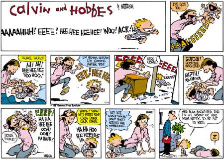Calvin & Hobbes, format à l'italienne