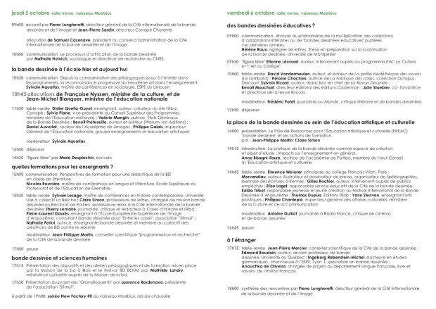 rencontreBDeducation_programme