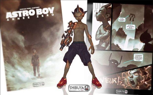 Astro Boy Shibuya Michel Lafon