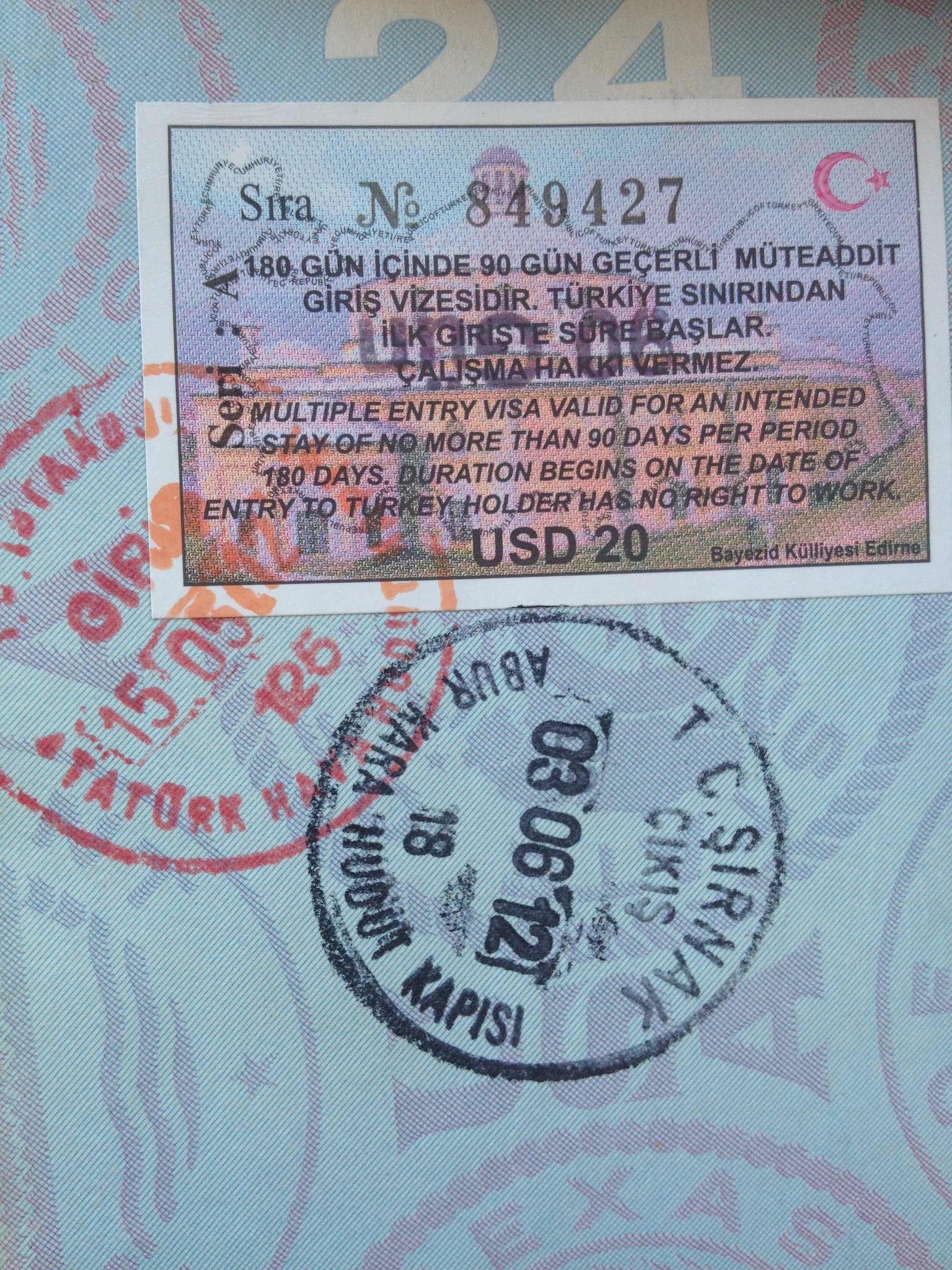 images How to Obtain a Turkish Visa