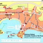 Bodrum Map Turkey