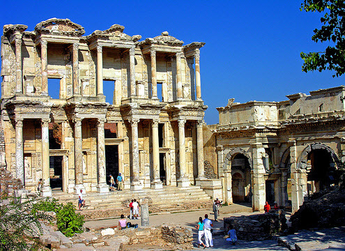 Exploring Ancient Turkey The-library-of-Ephasus1