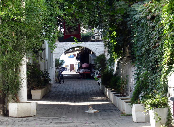 Cobble Streets of Bodrum Turkey
