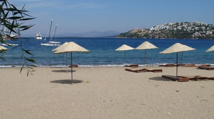 Gundogan Beach Bodrum Peninsula Turkey
