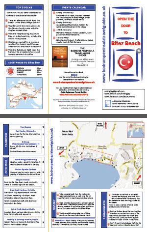 Bitez Quick Reference Travel Guide Bodrum Peninsula Turkey