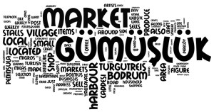 Shopping in Gumusluk Bodrum Peninsula Travel Guide Turkey