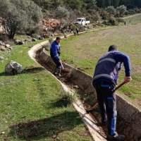 Ula'da 99 Bin 780 metre Sulama Kanalı Temizliği