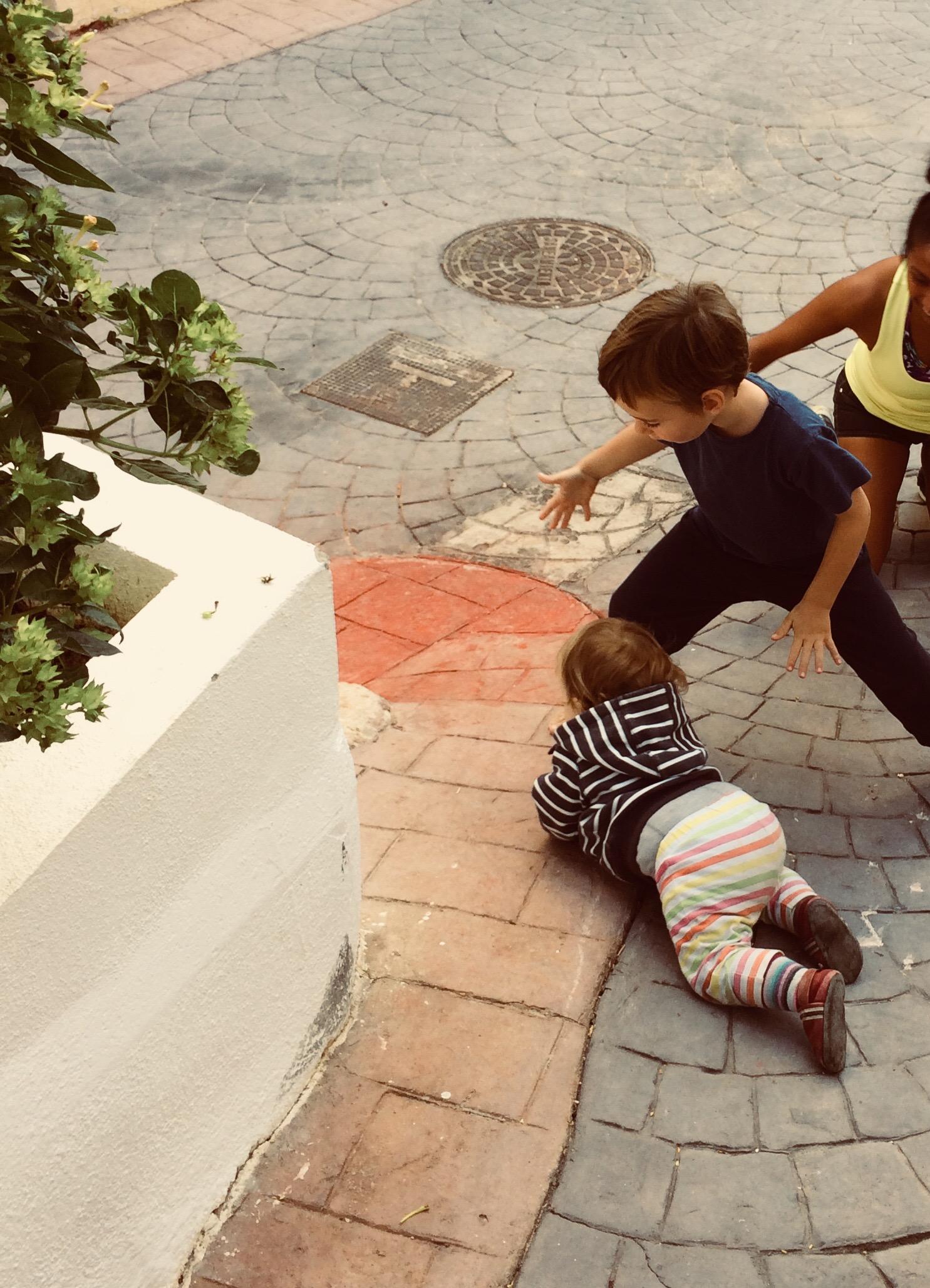 Über das Zusammenleben mit anderen Kindern