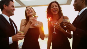 stock-footage-multi-ethnic-young-couples-have-fun-at-city-cocktail-party-dressed-in-black-shot-on-red-epic-k
