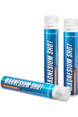 The supplement Body Attack Magnesium Shots serves as a ...