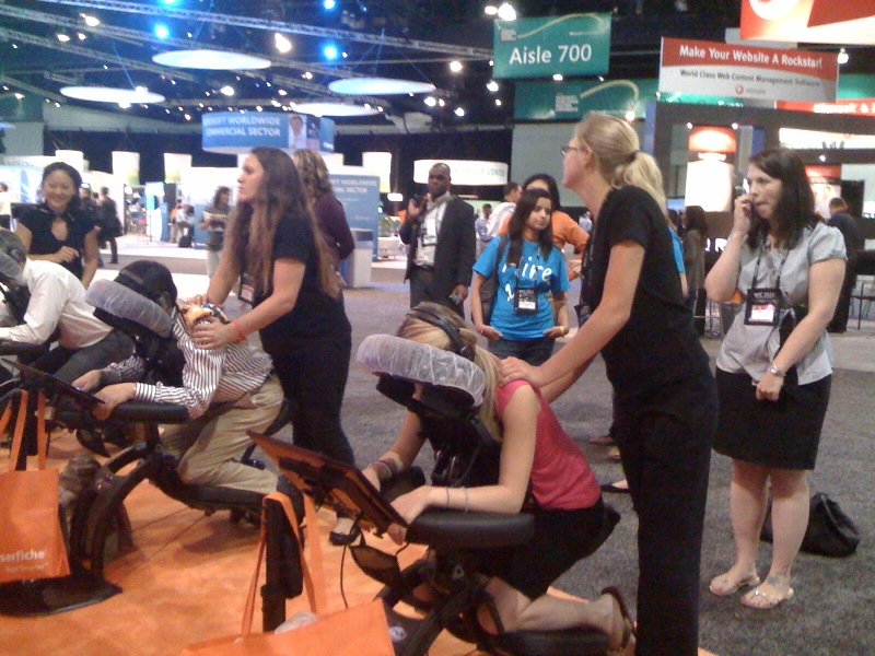 Event Massage in New York City  Mobile Massages in NYC