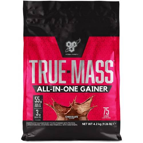 True Mass All-in-One Gainer 4200gr Chocolade
