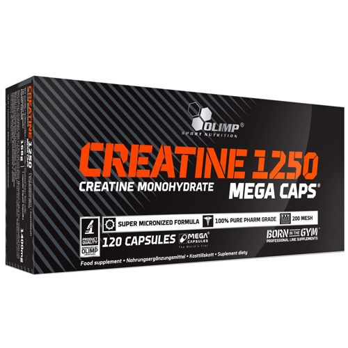 Creatine 1250 Mega Caps 120caps