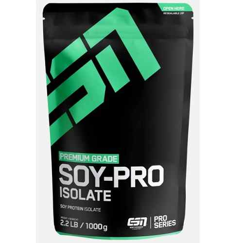 Soy Pro Isolate 1000gr Vanille