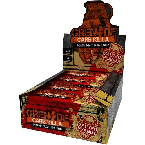 Grenade Carb Killa Bars 12repen White Choco Salted Peanut