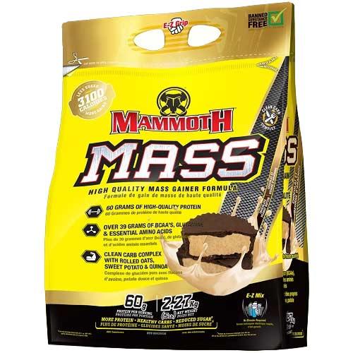 Mammoth Mass (Mammoth 2500) 2270gr Chocolade Peanut