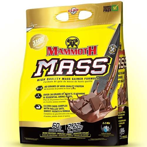 Mammoth Mass (Mammoth 2500) 2270gr Chocolade