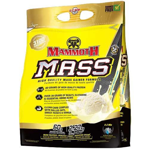 Mammoth Mass (Mammoth 2500) 2270gr Vanille