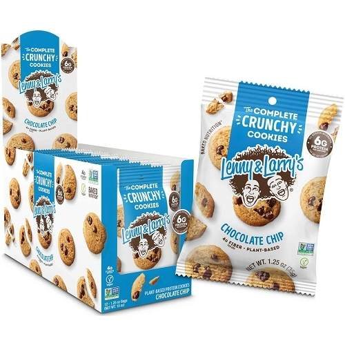 The Complete Crunchy Cookies 12cookies Chocolate Chip