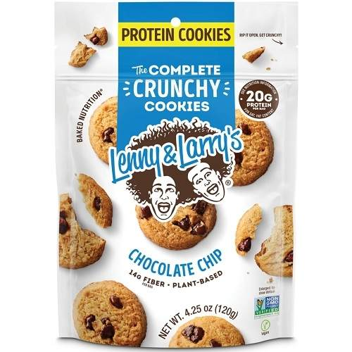 The Complete Crunchy Cookies Resealable 120gr