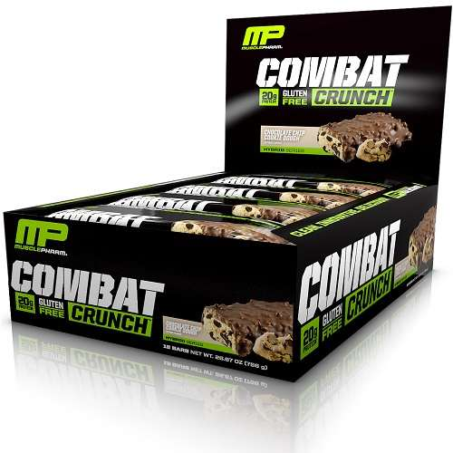 Combat Crunch Bars 12repen Double Stuffed Cookie Dough