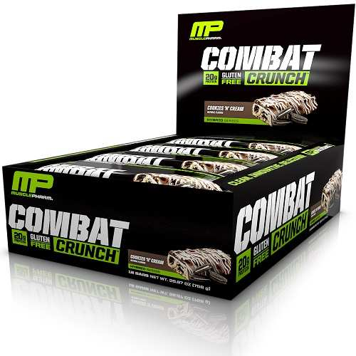 Combat Crunch Bars 12repen Cookies & Cream