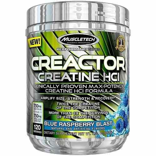 Creactor 120servings Blue Raspberry
