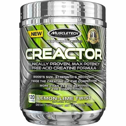Creactor 120servings Lemon Lime
