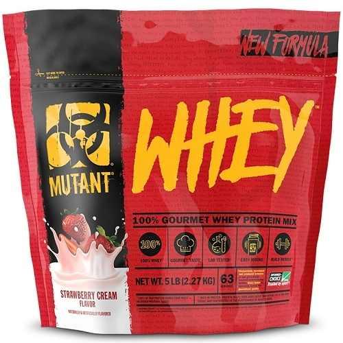 Mutant Whey 2270gr Aardbei
