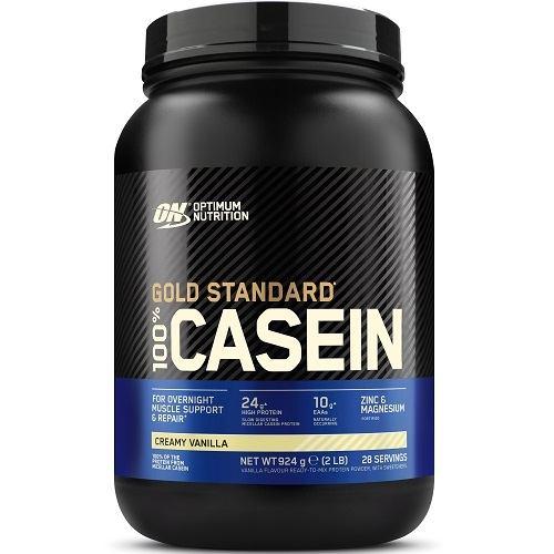 100% Casein Gold Standard 908gr Vanille