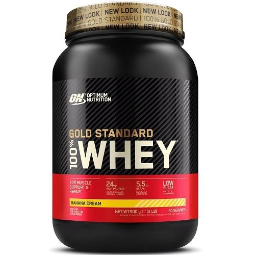 100% Whey Gold Standard 908gr Banaan