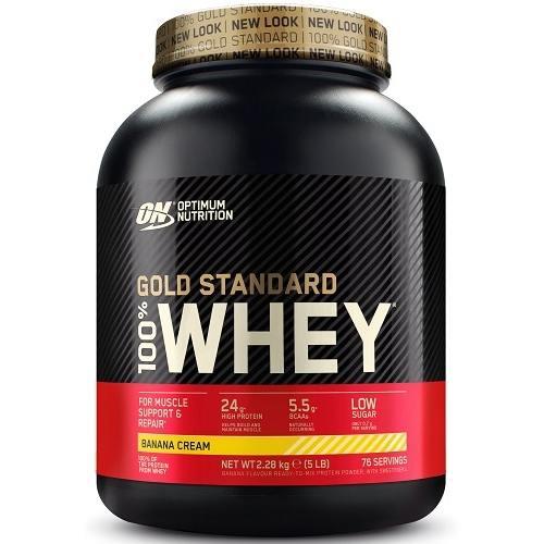 100% Whey Gold Standard 2270gr Banaan