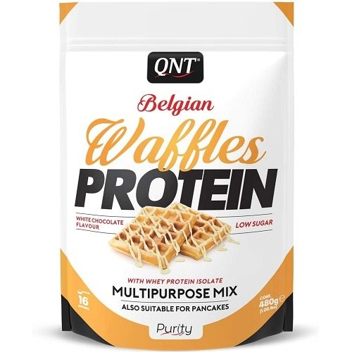 Belgian Waffles Protein 480gr White Chocolate