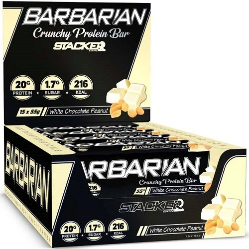 Barbarian Bar 15repen White Chocolate Peanut