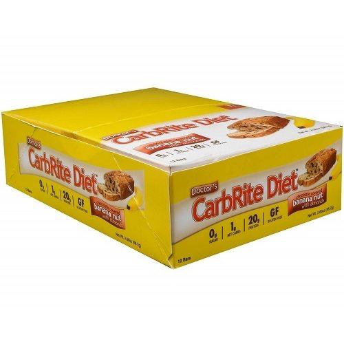 Low Carb Carbrite Diet Bar 12repen Banana Nut