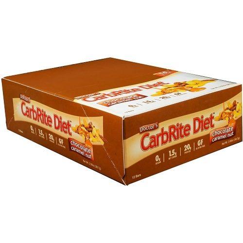 Low Carb Carbrite Diet Bar 12repen Caramel Nut