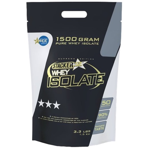 Whey Isolate Stacker 750gr Vanille