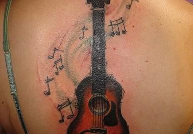 Guitar Tattoo Designs