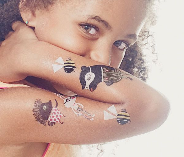 Selecting the right temporary tattoo for kids body art diary for Temporary tattoos for kids