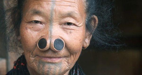 Nose plugs body modification