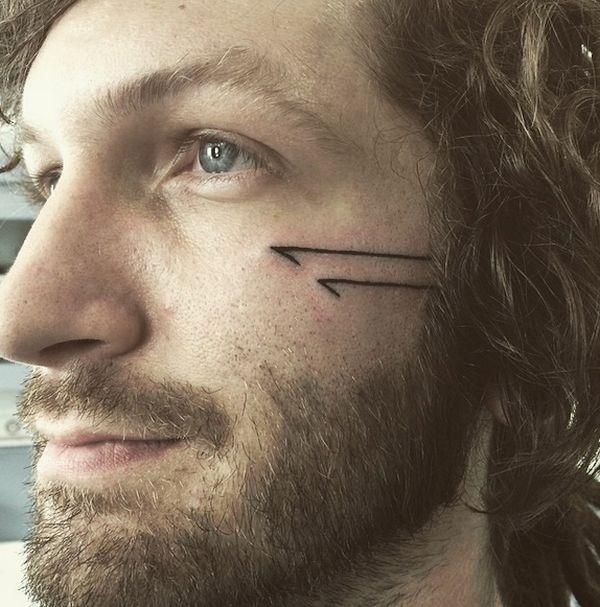 Minimalist line tattoos