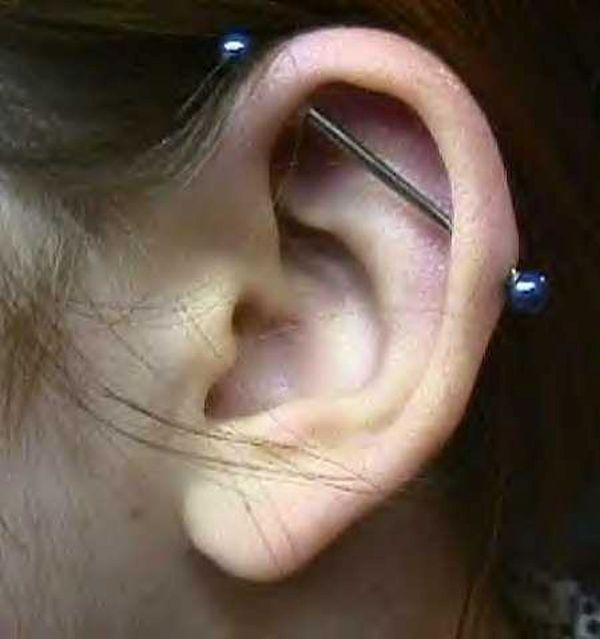 Industrial piercing 1