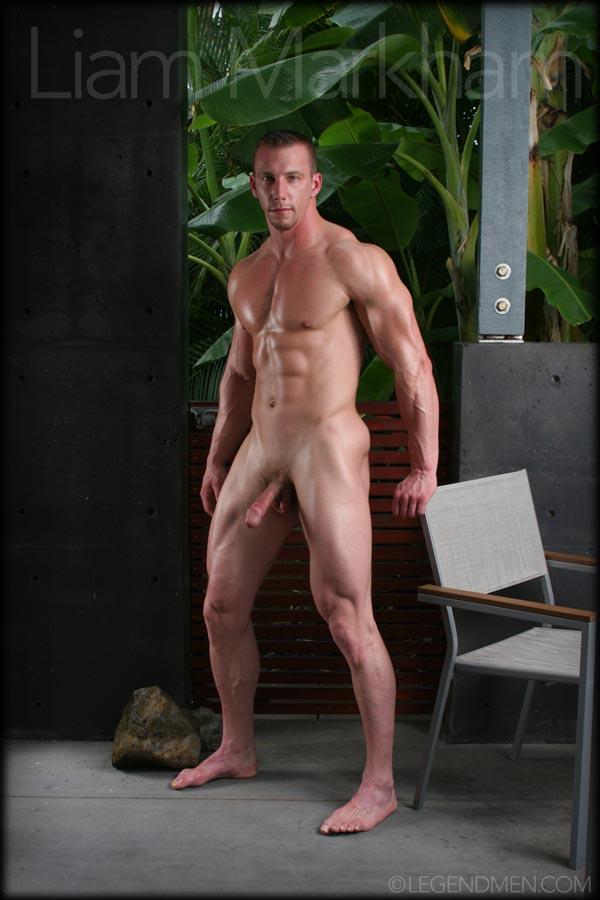 Bodybuilder Beautiful Liam Markham